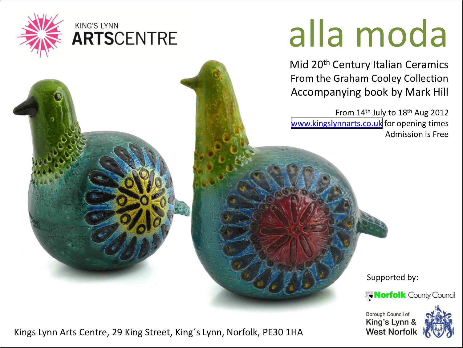 Alla Moda: Italian Ceramics ExhibitionMark Hill | Antiques ...