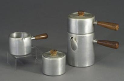 designer Russel Wright spun aluminium